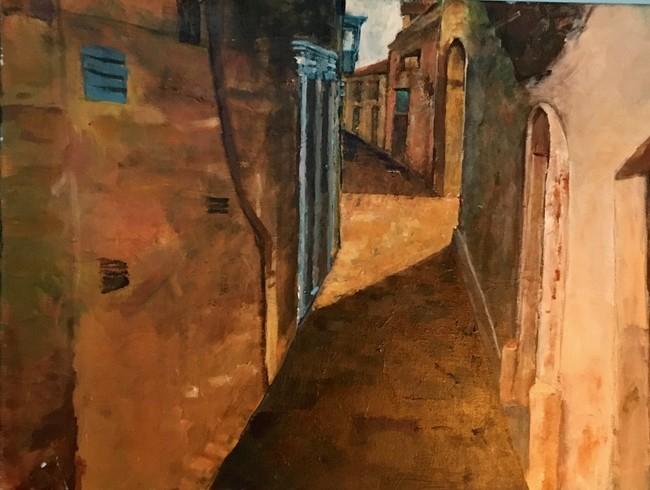 Peter van Doornum-Malta-acryl
