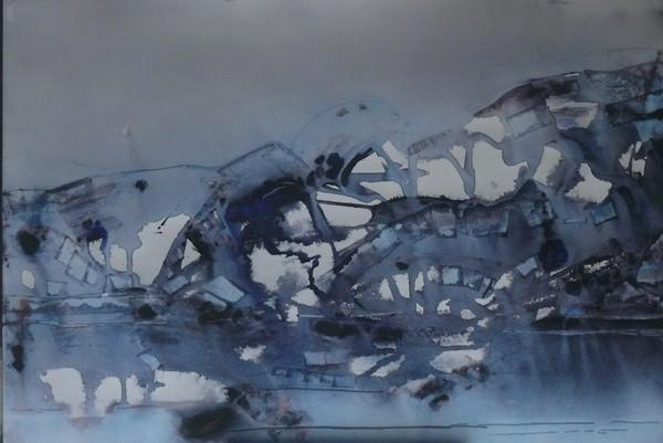 Ria Klompmaker-Impressie-aquarel