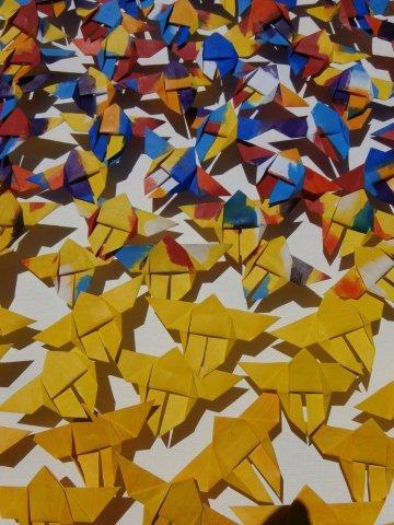 Ans Koenders-vlindervlucht-papier