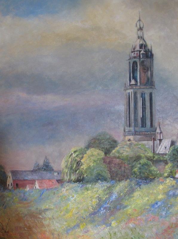 Henk Voorbij-Cunera Rhenen-acryl