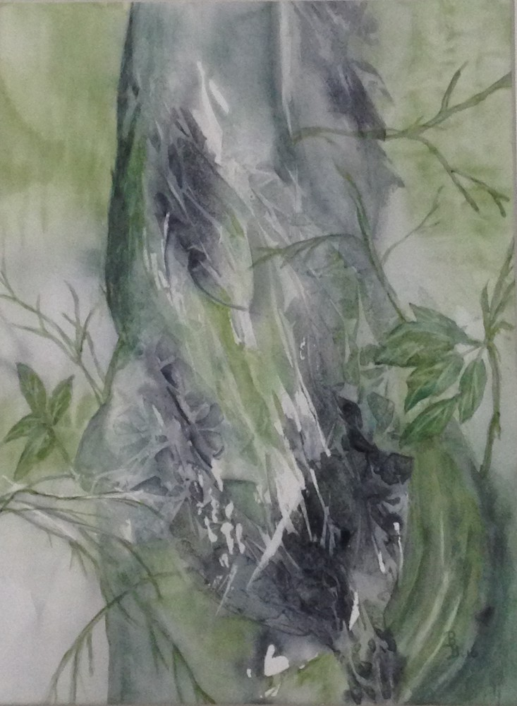 Bep Buijink-In 't Groen-aquarel