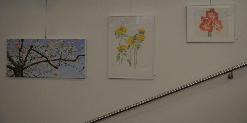 Expositie Het Gelders Palet in bibliotheek Wageningen 2020